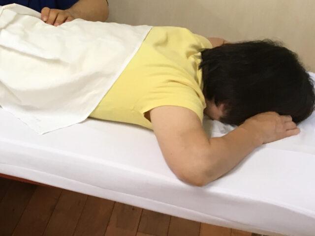 腰への温熱療法