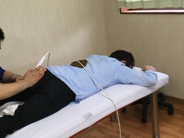 筋肉のコリに温熱療法